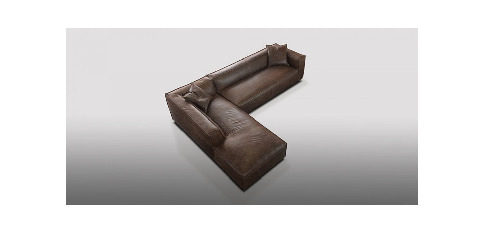Modern Leather Sofas SF