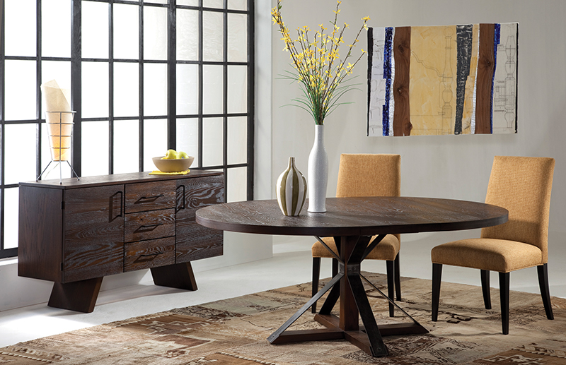 Rustic Furniture Round Table