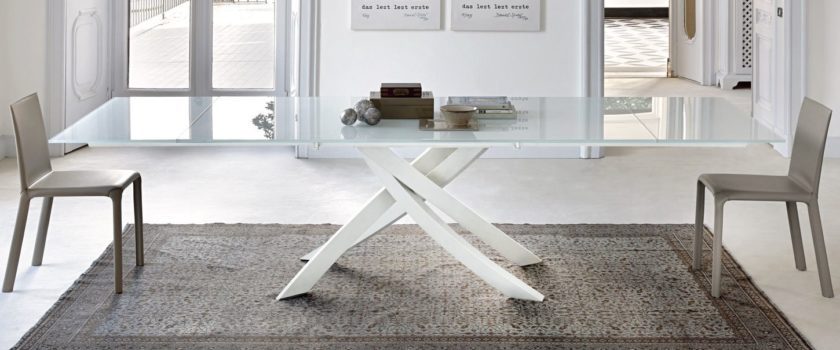 White Artistico Dining Table