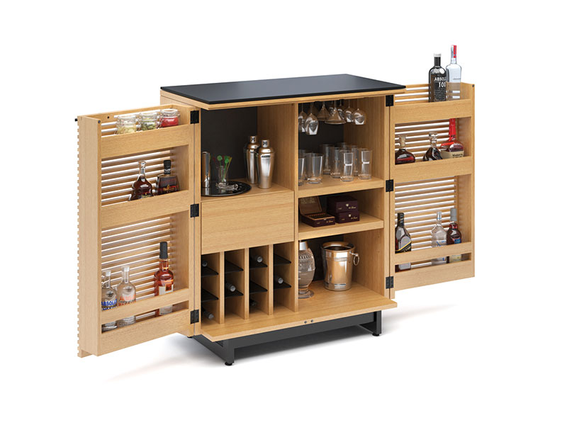 corridor-bar-5620-bdi-wok-both-doors-propped-2