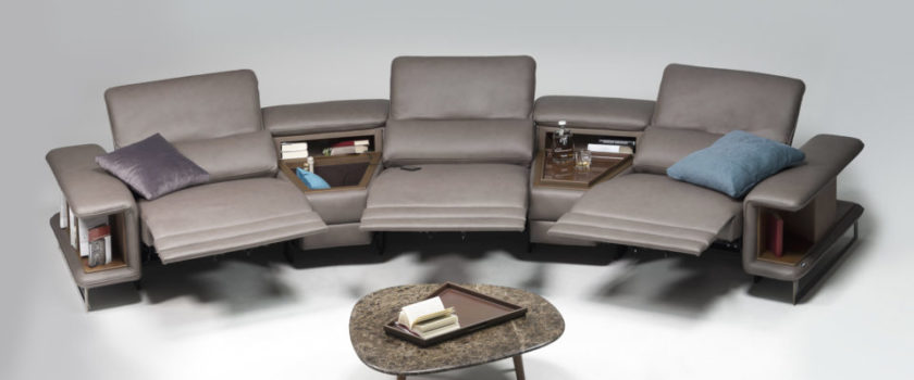 Modern Recliner Sofa San Francisco