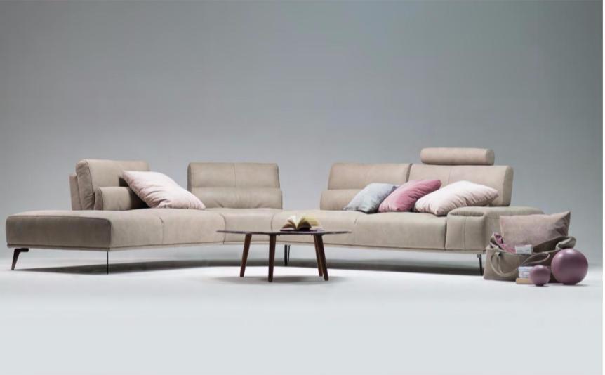 2018 Italian Leather Sofa Design Introductions Mscape Modern Interiors