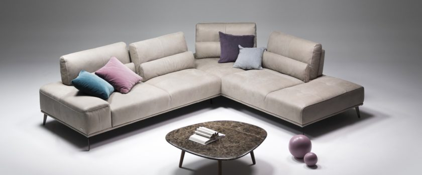 Nicoline Italian Leather Sofas