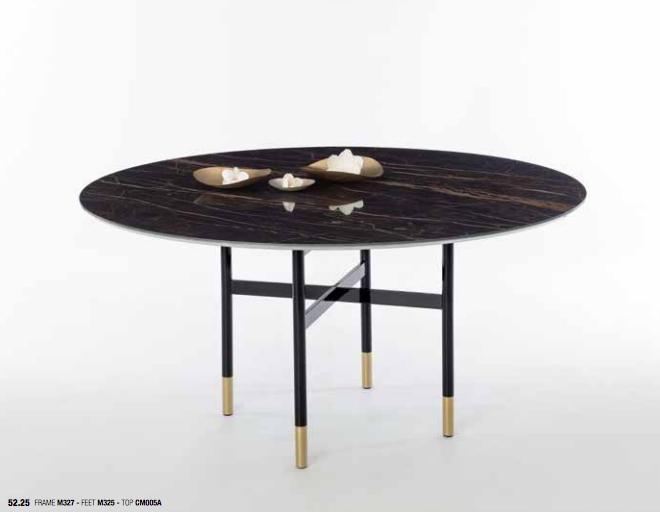 Bontempi Glamour Round Marble Table