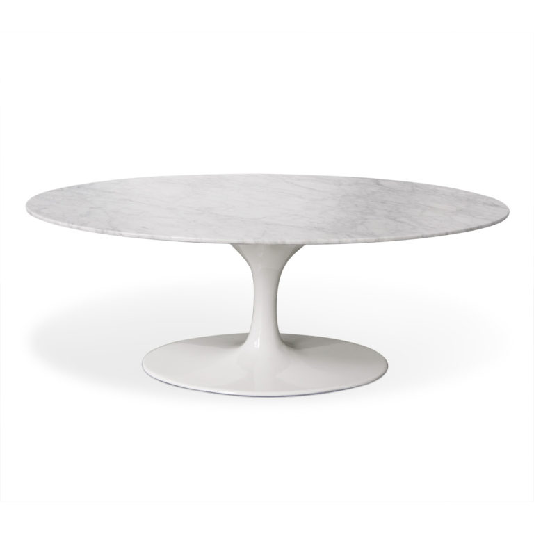 Saarinen-Marble-Oval-Table
